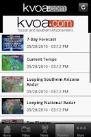 Screenshot of KVOA