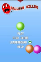 Screenshot of Balloon Killer