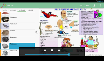 Screenshot of Homeopathic MMLive Pro