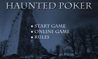 Screenshot of Haunted Poker