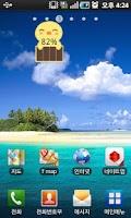 Screenshot of 4 Cute Battery Widget