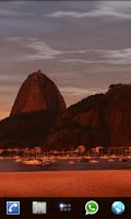 Screenshot of Rio Live Wallpaper Sugar Loaf