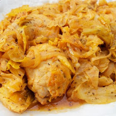 Chicken and Cabbage (Griot's Cookbook)