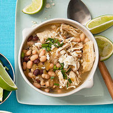 Black and White Chicken Chili