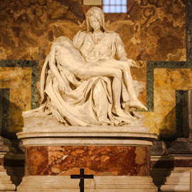 La Pieta in the Vatican by Lisa Faith-Gregg - Buildings & Architecture Statues & Monuments