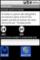 Screenshot of Share Moms Love
