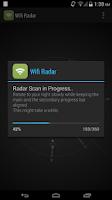 Screenshot of Wifi Radar