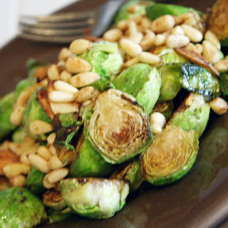Pan-Browned Brussel Sprouts