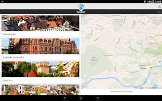 Screenshot of byStep Travel Guide