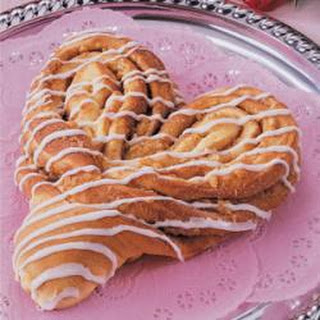 Heart-Shaped Coffee Cake