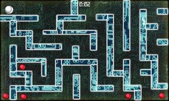 Screenshot of Orange Ball : Labyrinth