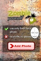 Screenshot of Zombie Yourself