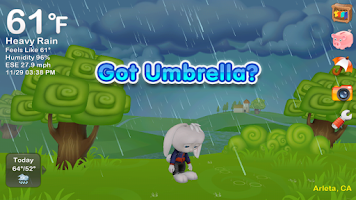 Screenshot of Weather Rabbit Free