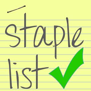Staple List For PC