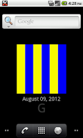 Screenshot of Nautical Flags Live Wallpaper