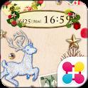 森のクリスマス for[+]HOMEきせかえテーマ icon