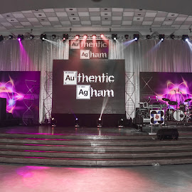 PSHS Golden Jubilee by Morrie Lorena - Buildings & Architecture Other Interior ( homecoming, golden jubilee, authentic agham, pshs, creativity, lighting, art, artistic, purple, mood factory, lights, color, fun )