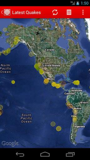 Latest Quakes