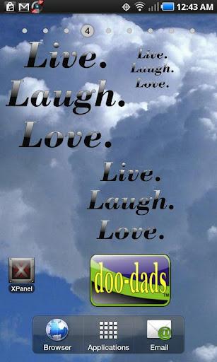 Live Laugh Love doo-dad