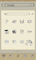 Screenshot of Doodle dodol launcher theme