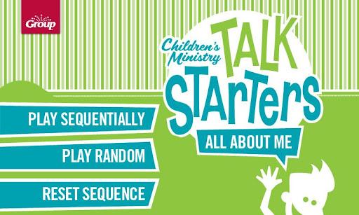 Talk Starters