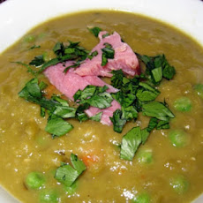 Split Pea Soup with Bacon and Rosemary