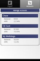 Screenshot of Credit Card Payoff Calculator