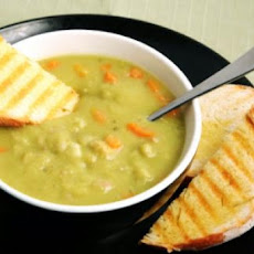 Yellow Split Pea Soup With Lemon