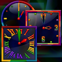 Rainbow Alarm Clock Widget icon
