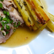 Braised Rabbit with Parsnips