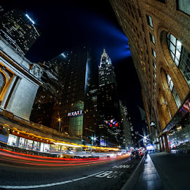 GRAND ROAD by Jose Ravelo - Buildings & Architecture Other Exteriors ( grand central, architecture, nyc, chrysler building, olevar )