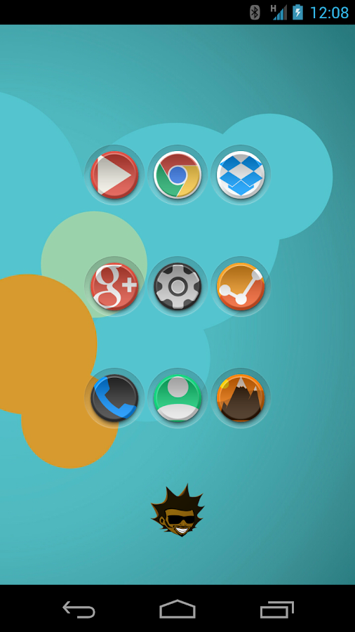 Tha Mint - Icon Pack Screenshot 0