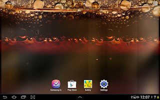 Screenshot of Coke Live Wallpaper