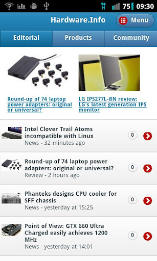 Hardware.Info Web App