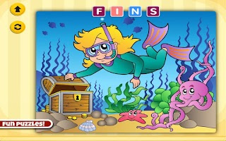 Screenshot of Fun Word Puzzle for Kids