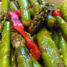 Asparagus With Roasted Red Peppers