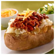 Chili-Stuffed Baked Potatoes