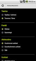 Screenshot of Ampparit.com