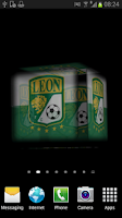 Screenshot of Ball 3D Club León LWP