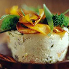 Broccolini and Sweet Potato Timbales