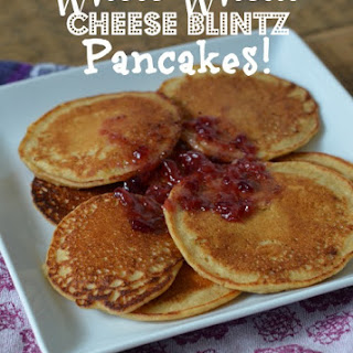 Whole Wheat Cheese Blintz Pancakes