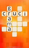 Screenshot of Crucigrama (español) - hobby
