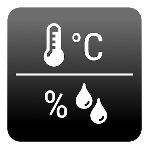Cover art Temperature / Humidity Widget