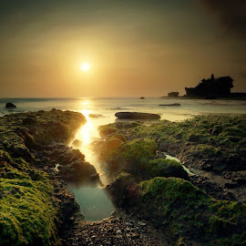 tanah lot at 5.30 pm by 777aan Aan - Instagram & Mobile iPhone