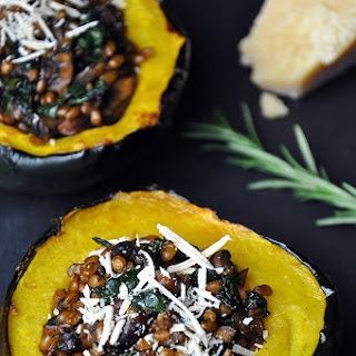 Roasted Acorn Squash with...