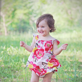 Madison at the park by Autumn Horton - Babies & Children Child Portraits ( child, babies, laugh, summer, children, baby, smile, madison, pretty, spring,  )