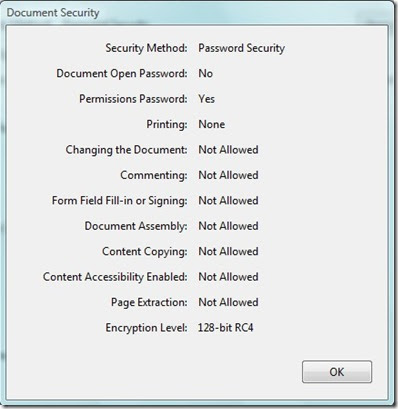 how to change a locked pdf file