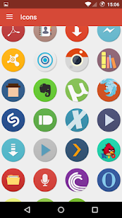 Numix Circle icon pack Screenshot