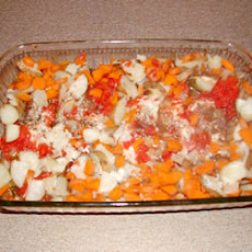 Veggie Oven Chicken