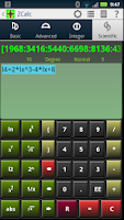 Screenshot of ZCalc